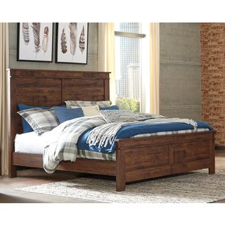 Shop for Signature Design by Ashley Hammerstead Brown King Panel Bed. Get free shipping at Overstock.com - Your Online Furniture Outlet Store! Get 5% in rewards with Club O!