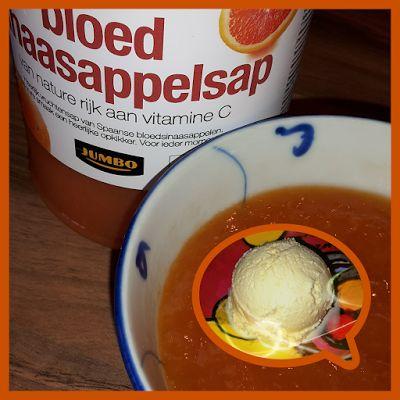 Lekker en leuk!: Bloedsinaasappelijs