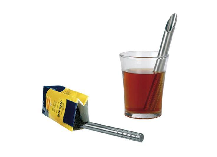 Infuzor tubular pentru ceai - Mindblower Obtine o infuzie de modernism cu Infuzorul tubular care te ajuta sa redescoperi arta ceaiului. Cadouri inedite, pe Mindblower.ro