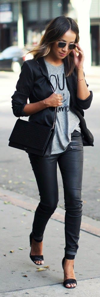 Daily New Fashion : My favorite fall/winter combo - Sincerely Jules