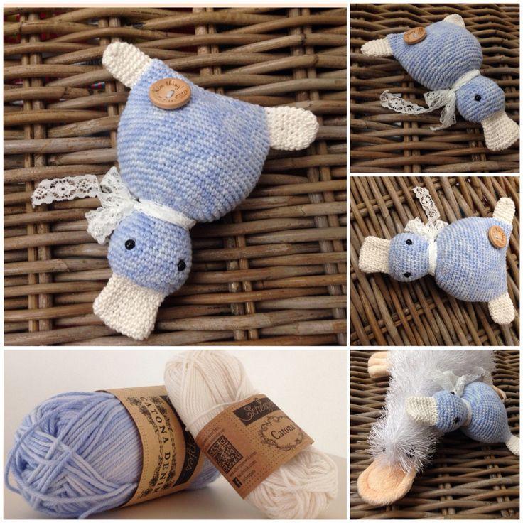 Eend gehaakt / duck crochet