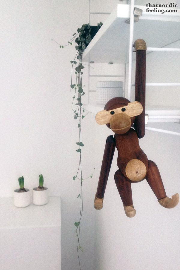 Kay Bojesen monkey via that nordic feeling | 4. Advent give away