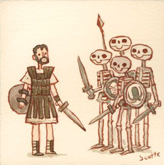 Jason and the Argonauts by Scott Campbell