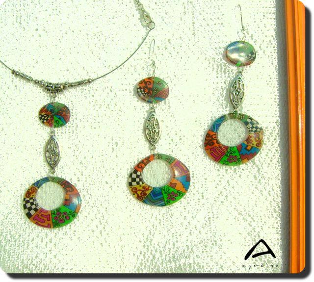 Cavalcade • my newest jewellery design set