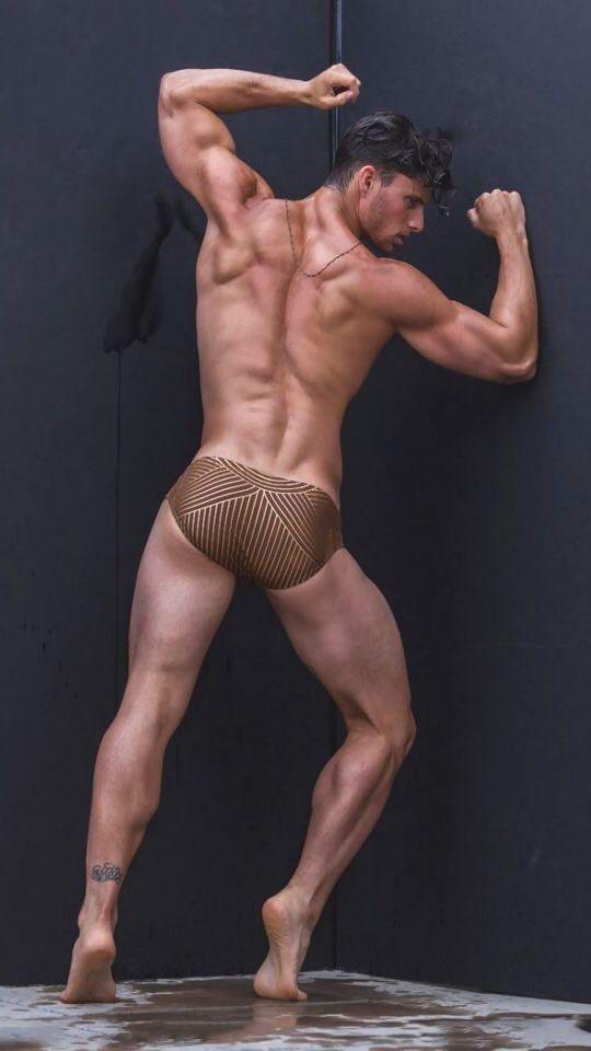 Guy model butt