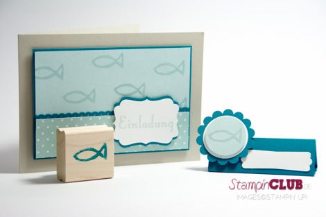 Stampin Up Konfirmation Kommunion Einladung Karte Platzkarte Undefined Geburtstagsgruß Make a Wish