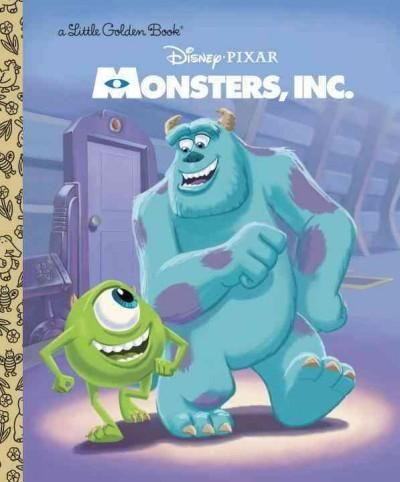 Mike, Sulley, and the rest of the workers at Monsters, Inc. are in for a big surprise when a little girl enters their world! Boys and girls ages 2-5 will love this full-color Little Golden Book which