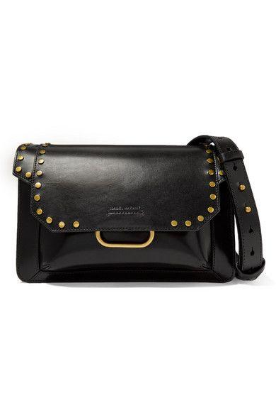 a3b4647d1a4aae Isabel Marant | Maskhia studded leather shoulder bag | NET-A-PORTER.COM