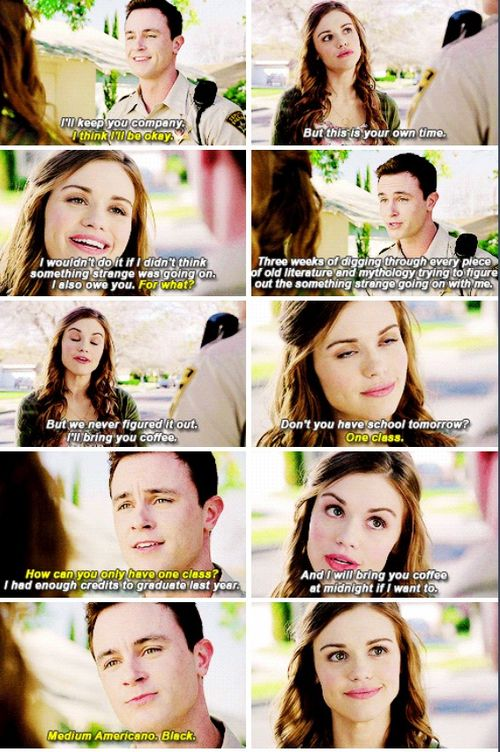 Is it just me or does Parrish have feelings for Lydia? hehe