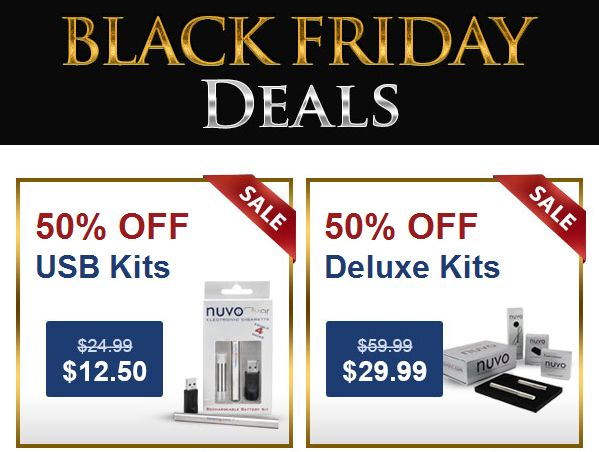 Nuvocig Black Friday Cyber Monday Deals
