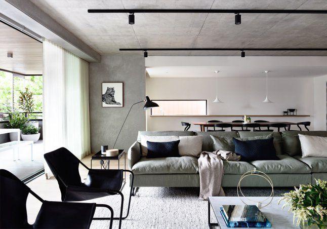 Appartement : Design doux et contemporain
