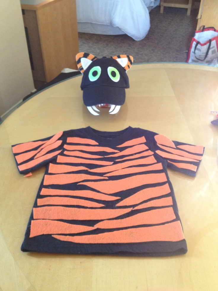 Tiger Costume For Kids Homemade Crafts