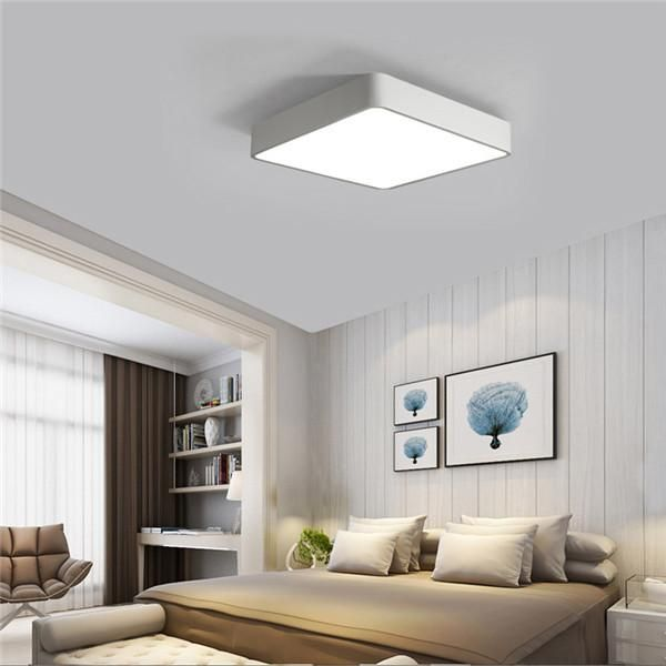 Cheerhuzz Modern Indoor Style Square LED Ceiling Light Livingroom  Decoration. Part 69