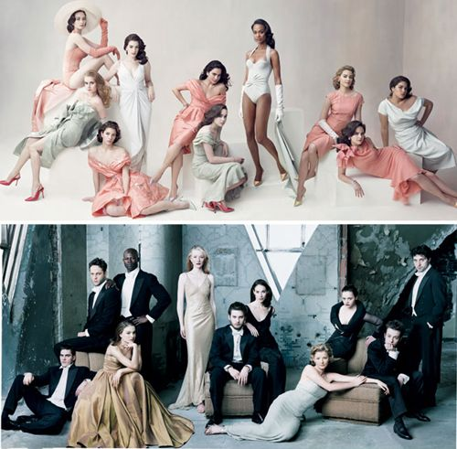 Would like to include a Vanity Fair-inspired shot during the wedding party photos