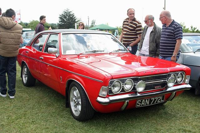 1973 Ford Cortina 2.0 GXL Mk3