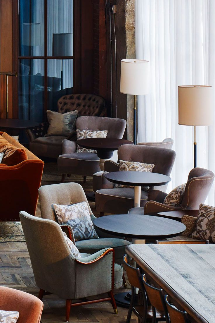 Our take on a '50s flea market find, the Betsy is a mainstay in the Houses for its Mid Century style | Soho House Chicago