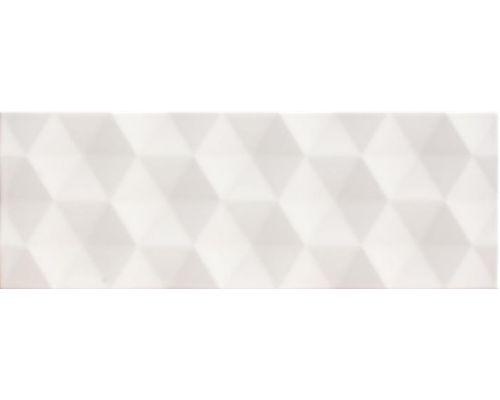 Biała płytka z robowatą strukturą 3D