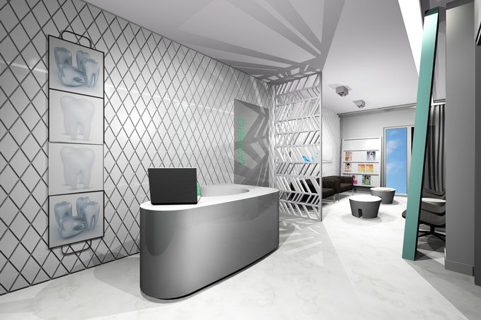 Dentist clinic design, in Athens
