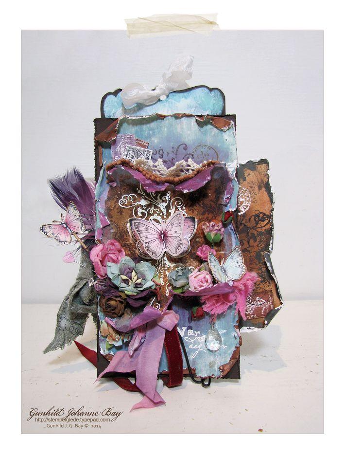 Boho/Gypsy Style Paper Bag Card - Gunhild J. G. Bay - Stempelglede :: Design Team Blog