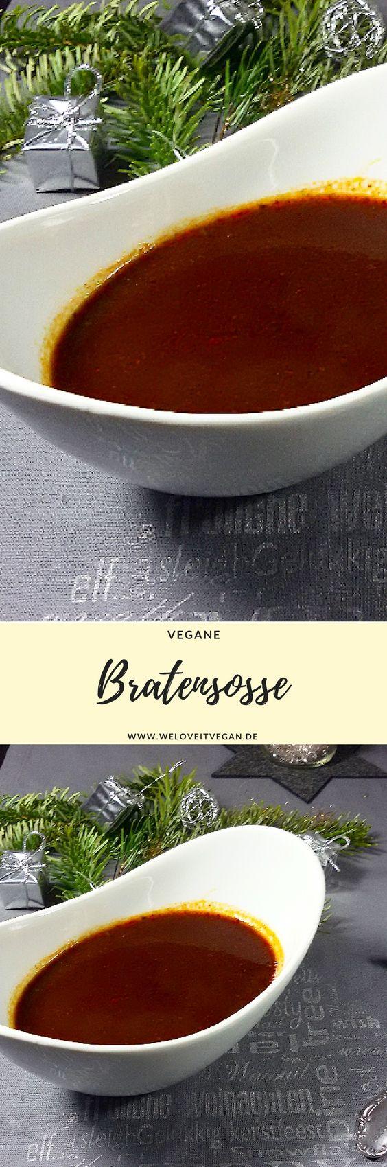 Ihr seid auf der Suche nach DER veganen Bratensosse, hier findet ihr sie :-) Einfach & schnell gemacht und unglaublich lecker.