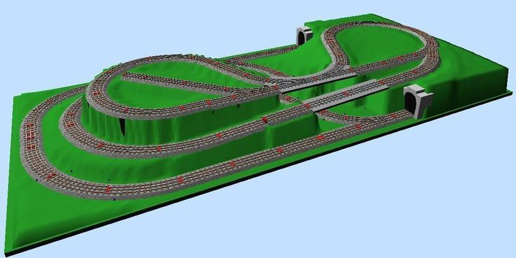 4X8 N Scale Track Plans - WOW com - Image Results | N Gauge