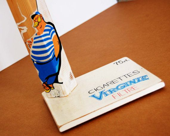 Vintage Virginie cigarettes advertisment by QrtosCreations on Etsy