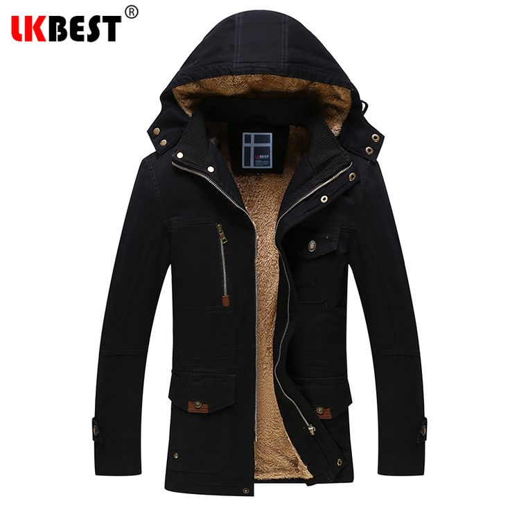 >> Click to Buy << LKBEST 2017 New Winter Jacket Men Winter Coat For Male Fashion Business hooded thick Men's Parkas Overcoat Outerwear (PW638) #Affiliate