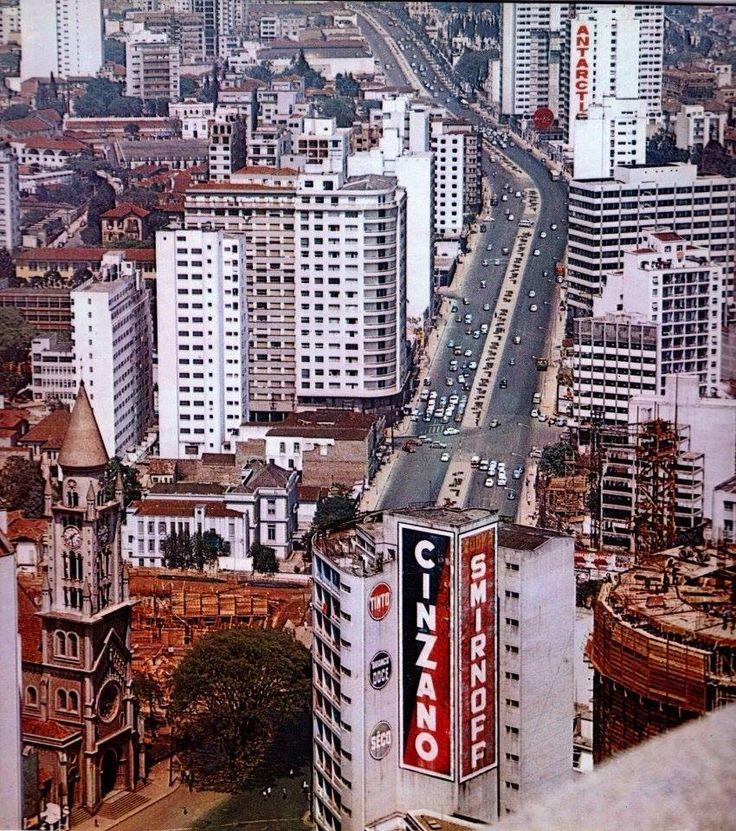 Rua da Consolação, 1969