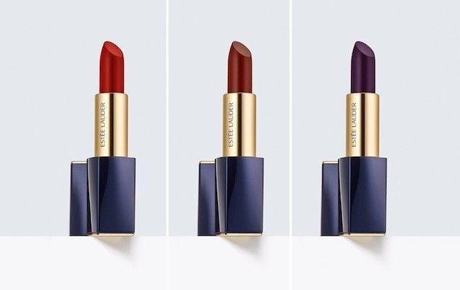 Joan Smalls lanza una colección de barras de labios (mate) junto a Estée Lauder