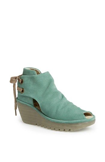 have to have...Fly London 'Yema' Open Toe Bootie available at #Nordstrom