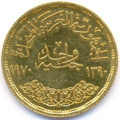 Egyptian Pound Gold Coin