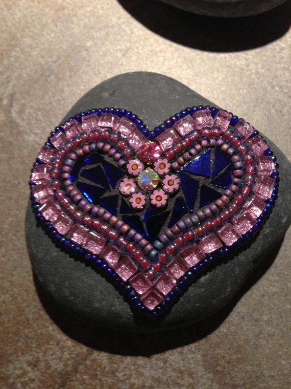 "Mosaic Art ""Rock of Love"""
