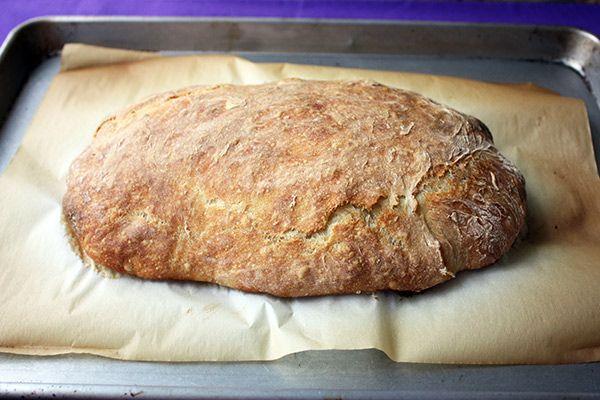 Könnyű Nem gyúr Ciabatta kenyér
