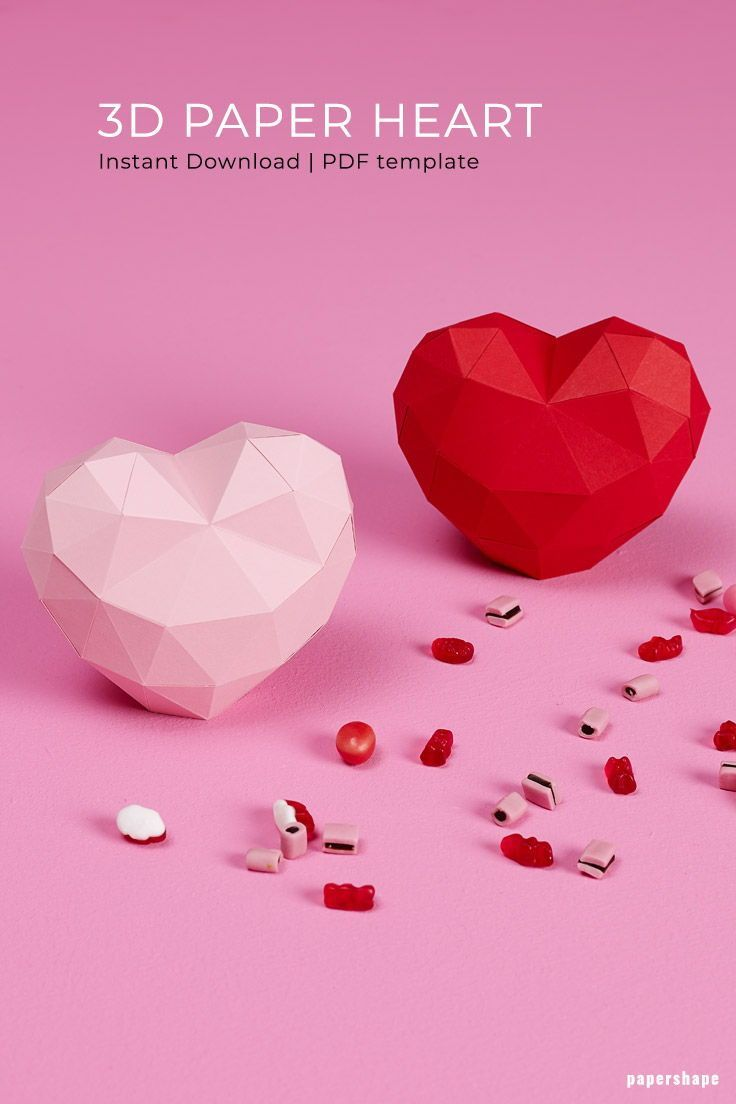 Origami Heart Box - Free Printable Coloring Template * Moms and ... | 1104x736