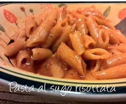 Ricetta PASTA AL SUGO RISOTTATA pubblicata da irene1502 - Questa ricetta è nella categoria Primi piatti