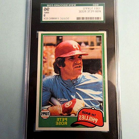 1981 Topps  500 Jim Rice SGC 96… $15.00. + $3.00. 1981 Topps  180 Pete Rose SGC 96 = PSA 9 Mint Baseball Card · 1981 Topps  180 Pete Rose SGC… 1981 Topps Pete Rose  180 Baseball Card Nice!! 5 out of 5 stars. 1984 TOPPS PETE ROSE  300 PHILLIES PSA 9 MINT IN MINT PSA HOLDER · 5 out of 5. 1981 Donruss  131 Pete Rose SGC 96 9 2010942-273. #BaseballCards #baseballcard #Baseball #Cards #Sports #Deals #Collectibles #gifts