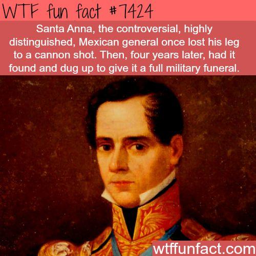 Santa Anna - FACTS