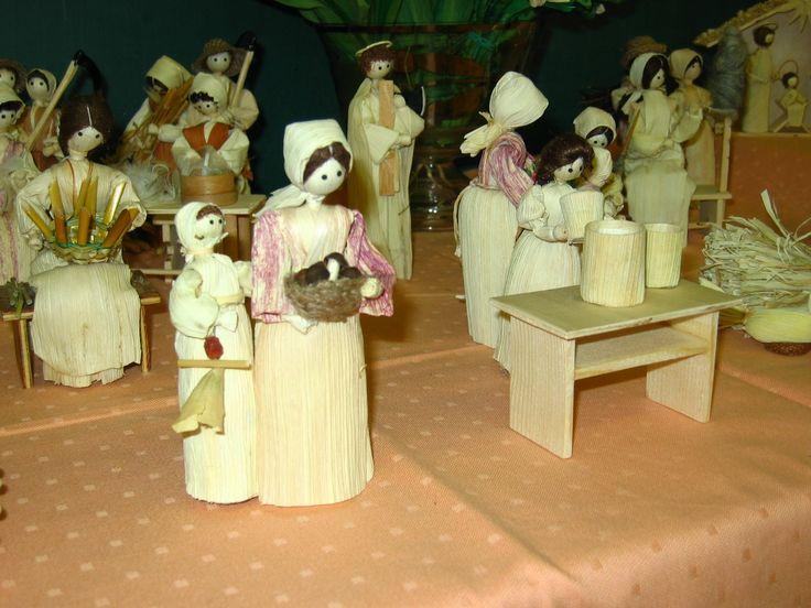 Lidová řemesla a lidové umění - Fotoalbum - výrobky z kukuřičného šustí - výrobky z kukuřičného šustí