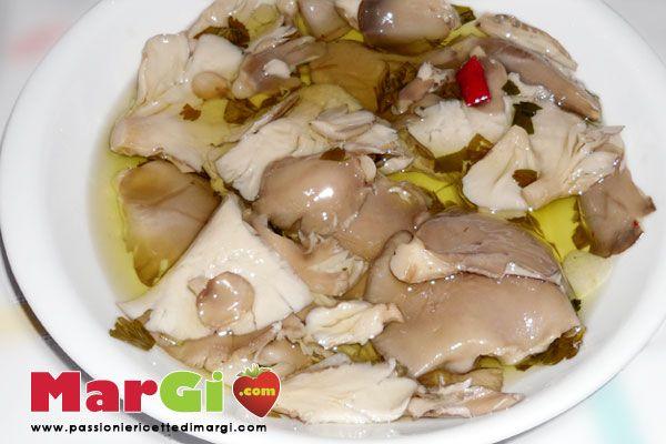Ricetta funghi pleurotus sott'olio contorni gustosi
