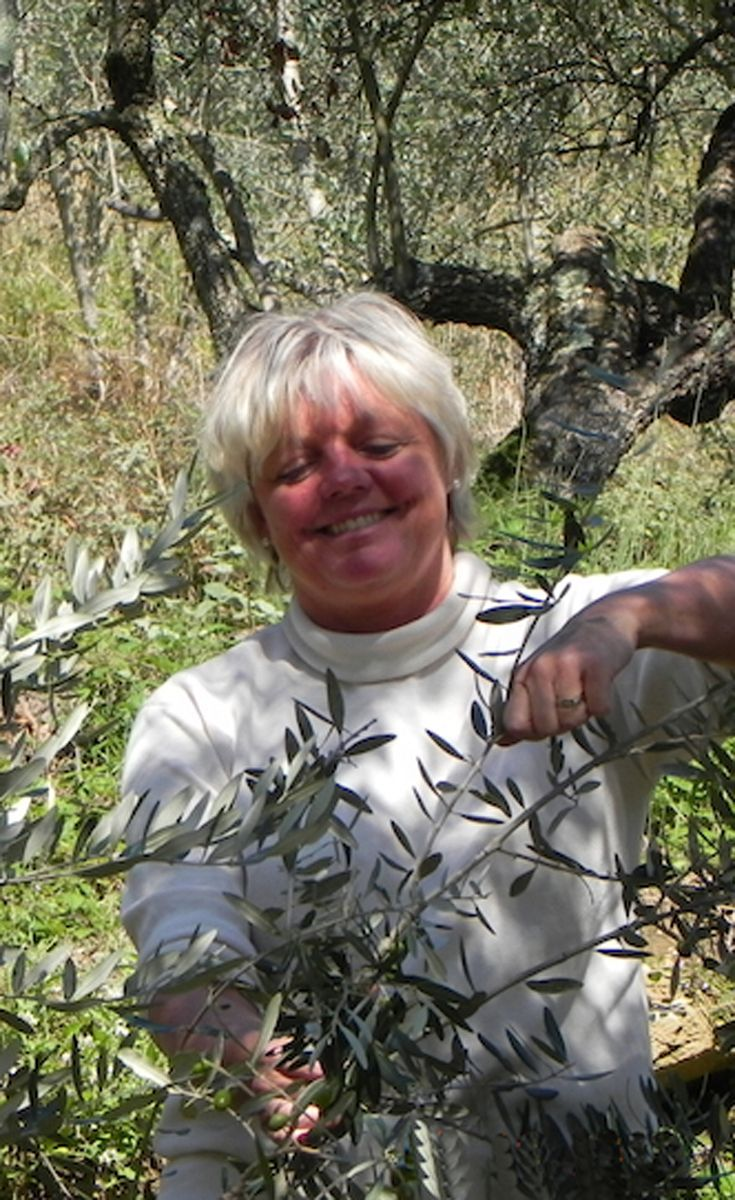 It makes you happy and peaceful to collect the olives - and when you know what a great result you can expect, you just keep working.