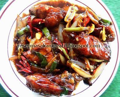 Resep Ayam Kecap Pedas | Resep Masakan Indonesia (Indonesian Food Recipes)