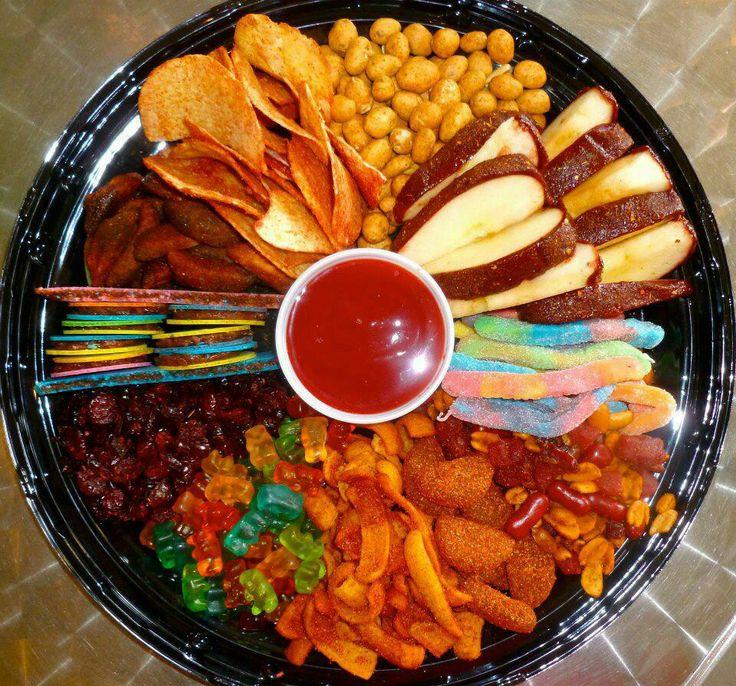 330 best images about s p i c y on pinterest for Centros de mesa con frutas