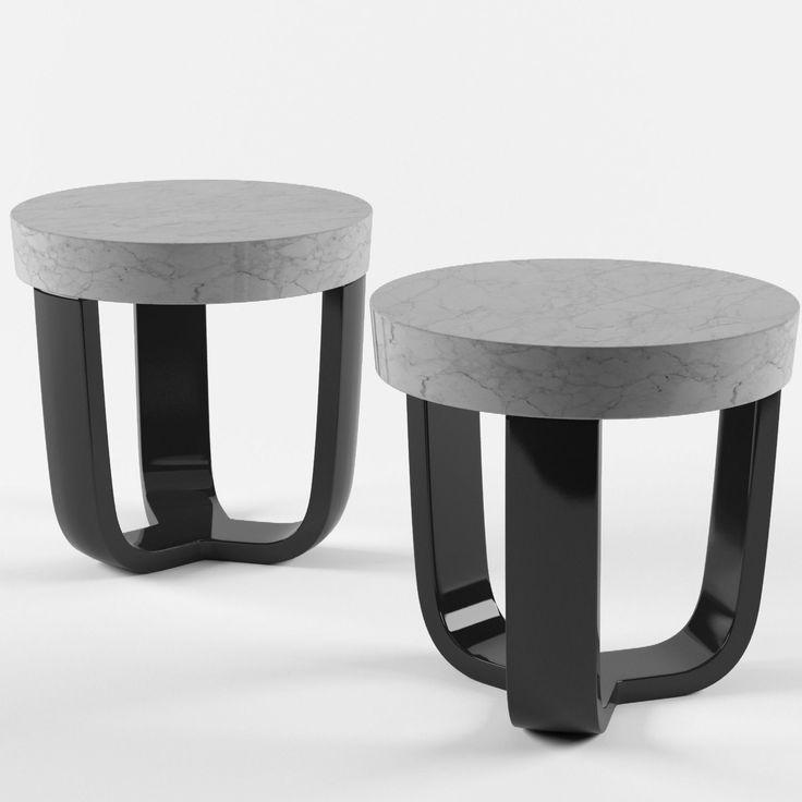 eric schmitt tripod table 3d model max obj cgtradercom