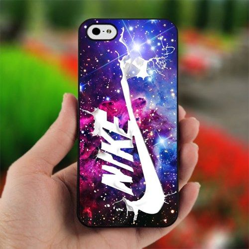 Nike Nebula Galaxy - Photo on Hard Cover For iPhone 5 | printcustom - Accessories on ArtFire