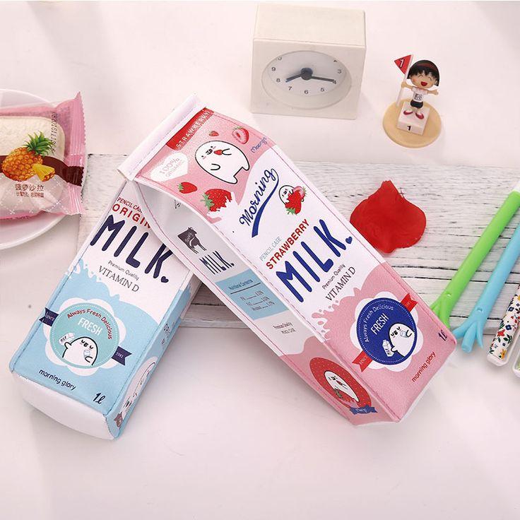 Milk Carton Pencil Case *FREE SHIPPING on Storenvy