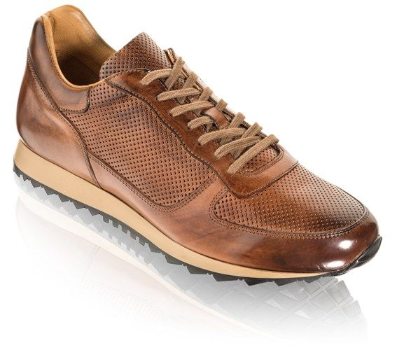 To Boot New York: Men's Shephard Sneakers in Cognac