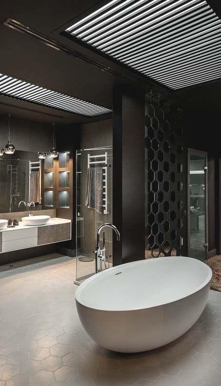 Own your morning // bathroom // home decor // interior // wall art // urban suite // city loft // urban life // city living // luxury life //