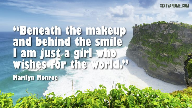 Marilyn Monroe Beneath The Makeup Quote: 258 Best Images About Inspirational Quotes
