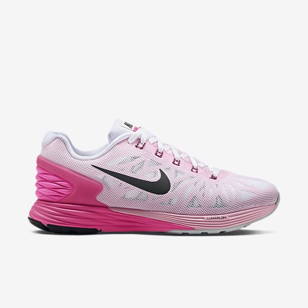 vente ebay Nike Lunarglide 6 Fond Rose Et Blanc site officiel sortie 2015 Vente en ligne Coût aP9vRPK