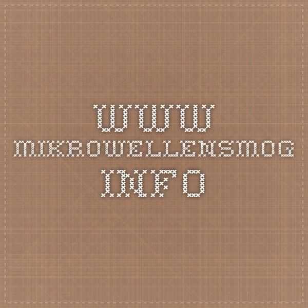 www.mikrowellensmog.info
